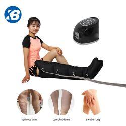 Massajador de compressão seqüencial de ar adequado para Homens, mulheres, anciãos e jovens impedir de alívio de edema e inflamação