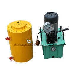 ダブル演技型高型電動式 50 トン油圧ジャッキ価格