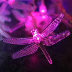Holiday Decoration를 위한 Solar 옥외 Dragonfly 정원 Stake Lights