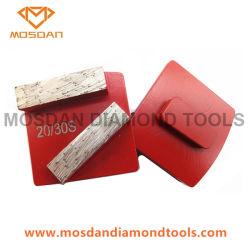 Husky Redi double verrouillage rectangle diamant Les disques de meulage