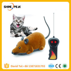 RC Grappige het Spelen van de Kat van de Nieuwigheid RC van de Muis van de Afstandsbediening van het Speelgoed van de Kat van muizen Draadloze Valse Muis voor de Producten van het Huisdier van de Kat