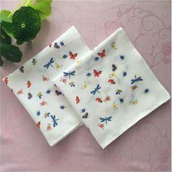 Plain 100%Algodón japonés Pañuelo de impresión