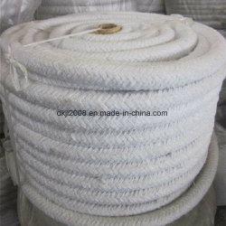Aislamiento térmico de alta temperatura de la cuerda de fibra cerámica para el sellado