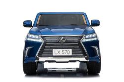 Licence d'enfants Lexus-570 balade en voiture avec 2 places