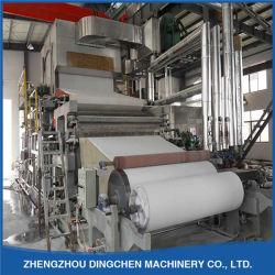 Facial Tissue Paper Making Machine Aus Rohmaterialien Waste Paper, Wood Pulp, Wheat Straw, Bagasse, Baumwolle
