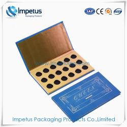 低価格の専門の装飾的な包装のペーパーギフト用の箱のアイシャドウのパレットの構成