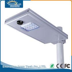 カメラ LED ソーラーストリートライト 15W 搭載スマートパワーシステム
