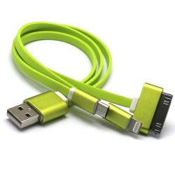 Оптовая торговля 3 в 1 кабель USB для 5контакт 8 контакт 30контакт