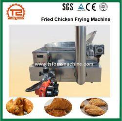 Gas-Heizungs-gebratenes Huhn, das Maschinen-Kartoffelchip-Bratpfanne brät
