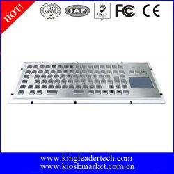 ファンクションキーとタッチパッド付きパネル取り付けメタルキーボード