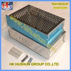 غلاف كهربائي إلكتروني من الألمنيوم ذو لوحة من الخلائط المصنوعة من الألمنيوم، المصنع المعدني للورقة (HS-SM-009)