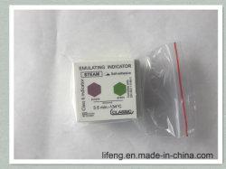 Класс 6 Метка индикатора в автоклаве и паровой стерилизации индикаторная метка фиолетового цвета на зеленый