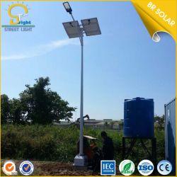 5 ans de garantie longue durée de vie IP67 60W Lampe de la rue solaire Rue lumière solaire avec pôle