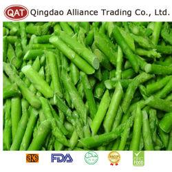 Asparago verde tagliato IQF con superiore