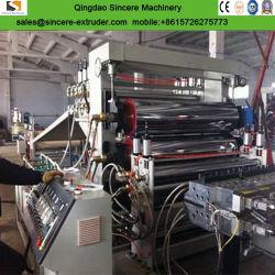 PVC/PP/PE/Pet/PC Feuille de plastique transparent/plaque extrusion de la machinerie