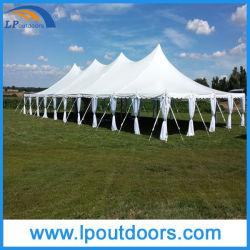屋外にWedding PartyのためのCheap Steel Frame Pegポーランド人Tent