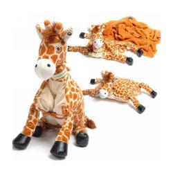 Couverture Bébé girafe jouet en peluche Animal couverture pliée