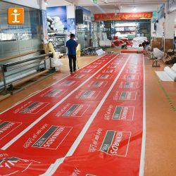 Kundenspezifische preiswerte Vinylstraßen-Fahne, Kurbelgehäuse-Belüftung, das Fahne bekanntmacht