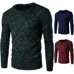 Nouveau tissu chandail de l'homme de l'automne pull-over de gros de vêtements en bonneterie Knitwear Fashion