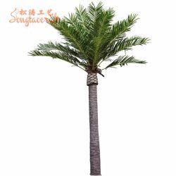Venta caliente de simulación de gran escala de la fecha de Mar Decoración Interior Árbol árbol artificial