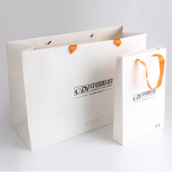 Logo Bedrukt Decoratieve Fancy Vouwen Gift Packing Tassen