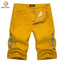 Os homens de lazer fabricantes Carga Curta calças calças de algodão de moda