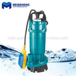 Алюминиевый корпус 220 V AC 750 W Qdx погружение Очистите водяной насос