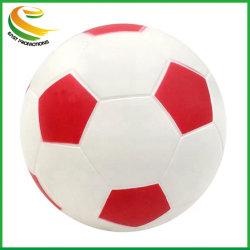 Espuma de poliuretano de 5 pulgadas balón de fútbol para regalo promocional logotipo puede ser personalizado