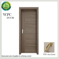 تصميم بسيط سعر منخفض غرفة فندق تيمبر باب مرحاض PVC أبواب خشبية