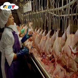 鶏の虐殺装置か鶏の屠殺の生産ラインまたは家禽の屠殺装置