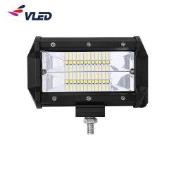 Комбинированная лампа дальнего света во время движения погрузчика 4X4 Pod шутер от первого лица портативный 12V 5 дюйма 24W автомобильный светодиодный фонарь рабочего освещения
