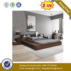 Het moderne Milieuvriendelijke Bed van de Koning van het Meubilair van de Slaapkamer van het Hotel van het Huis Houten Dubbele