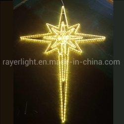 Populaires de Noël Décoration lumière LED étoile de Bethléem Fo Arbre de Noël de décolleteuse