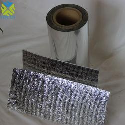 アンダーフロア加熱アルミニウムフォイル金属製 PET フィルム、 PE コーティング 絶縁体材料の場合