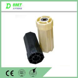 Composants de l'obturateur du rouleau de tête en plastique avec roulement