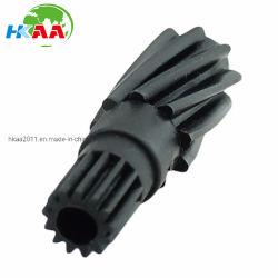 La precisión del módulo de piñón helicoidal de plástico de 0.500, los dientes 13