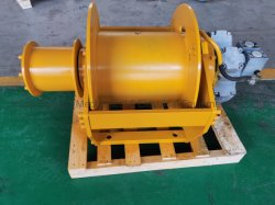 дизельный двигатель с двойной барабан Гидравлическая лебедка для тралового