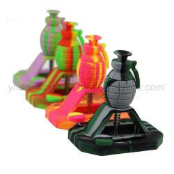 Kundenspezifisches Öl-Wachs-rauchender Silikon-Nektar-Sammler eingestellt mit Titan und KLEKS Hilfsmittel