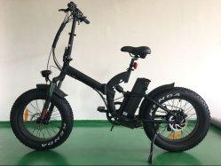 Rad-Motor Soem-48V 500W 20 Fett-Gummireifen-Aufhebung des Zoll-Legierungs-Spant-4.0, die elektrisches Fahrrad faltet