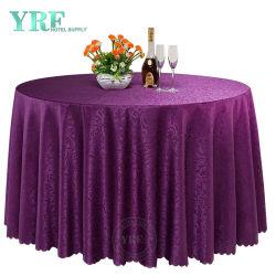 120 de satén púrpura Ronda Restaurante Ropa de mesa