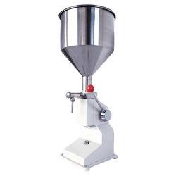 ماكينة تعبئة السوائل اليدوية زيت تعبئة سعة 5-50 مل تعبئة بنفح هوائي قابل للضبط