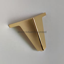 Le matériel en acier inoxydable doré de luxe canapé canapé de base de la jambe