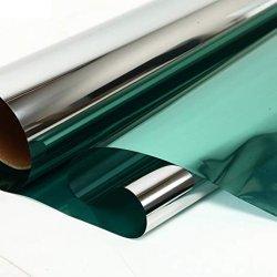 Vidro de construção reflexiva de prata azul House película de coloração