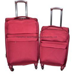 防水ナイロン紡績工は柔らかい旅行トロリー荷物を動かす