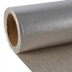 Fire-Fighting One-Sided en aluminium le tissu de verre