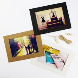 Kreativer Papierpappfoto-Rahmen der 10PCS bilderrahmen-DIY