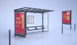 75 pulgadas de alto brillo Double-Side Publicidad Bus LCD pantalla de la vivienda