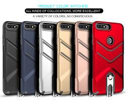 PC+Suporte de anel TPU Disco Acessórios para telefone celular para a Huawei Nova 2 Lite