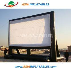 La unidad de 40 pies en la pantalla de cine teatro al aire libre inflables