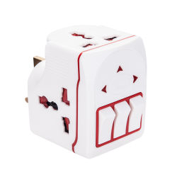 13A Travel Adaptor met Switch en Fuse Universal Adaptor